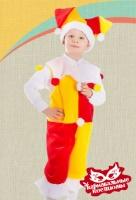 Скоморох  плюш карнавальный костюм