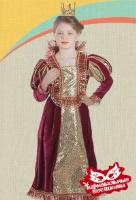 Королева карнавальный костюм. бархат