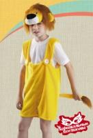 Львенок плюш карнавальный костюм