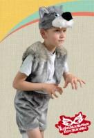 Волк плюш карнавальный костюм