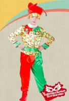 Петрушка карнавальный костюм