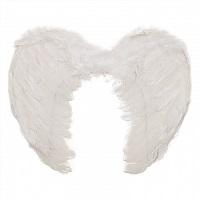 Ангела Белые, Черные 45см карнавальные крылья
