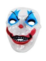 Маска пластик прозрачная Злой Клоун