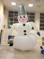 Снеговик 3 м