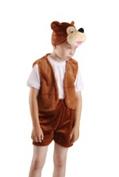 Медвежонок бурый плюш карнавальный костюм