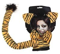 Набор тигрицы со стразами