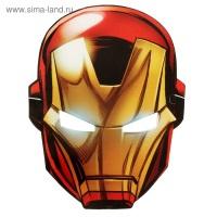 "Маска картон ""Железный человек"", Мстители"
