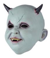 Маска латекс ребенок-дьявол
