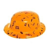 "Шляпа пластик""Ноты"""
