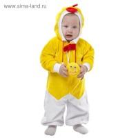 Цыпленок карнавальный комбинезон р.68-92