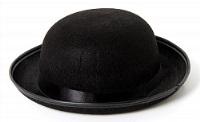 """Шляпа """"Черная"""" круглая"""