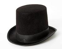 Шляпа Цилиндр черный
