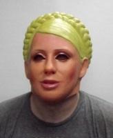 Маска латексная Женщина с косой(Тимошенко)